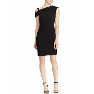 Lauren Ralph Lauren Beaded-Strap Dress Black
